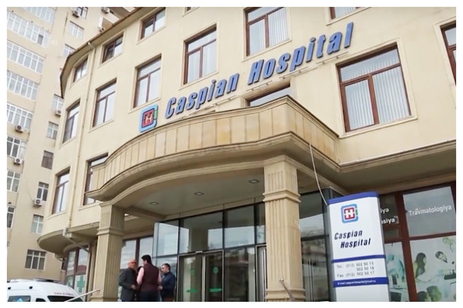 Caspian International Hospital sizi salamlayır! (+ video)
