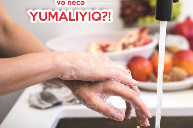 Əllərimizi nə zaman və necə yumalıyıq?!