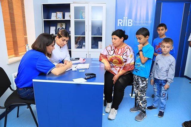 """""""Regional İnkişaf"""" İctimai Birliyi və """"Caspian İnternational Hospital""""ın birgə təşkilatçılığı ilə  ödənişsiz tibbi müayinələr həyata keçirilmişdir."""