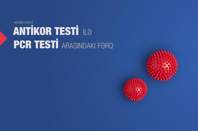 PCR testi ilə Antikor testi arasındakı fərq