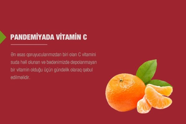 Pandemiyada Vitamin C'nin vacibliyi